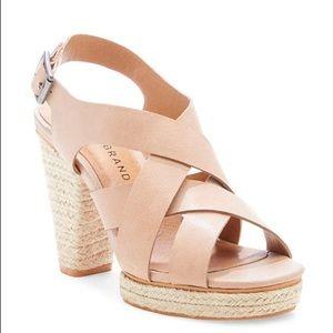 Lucky Brand Cabino espadrille platform sandal